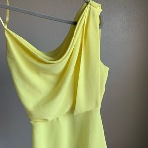 BCBG yellow top